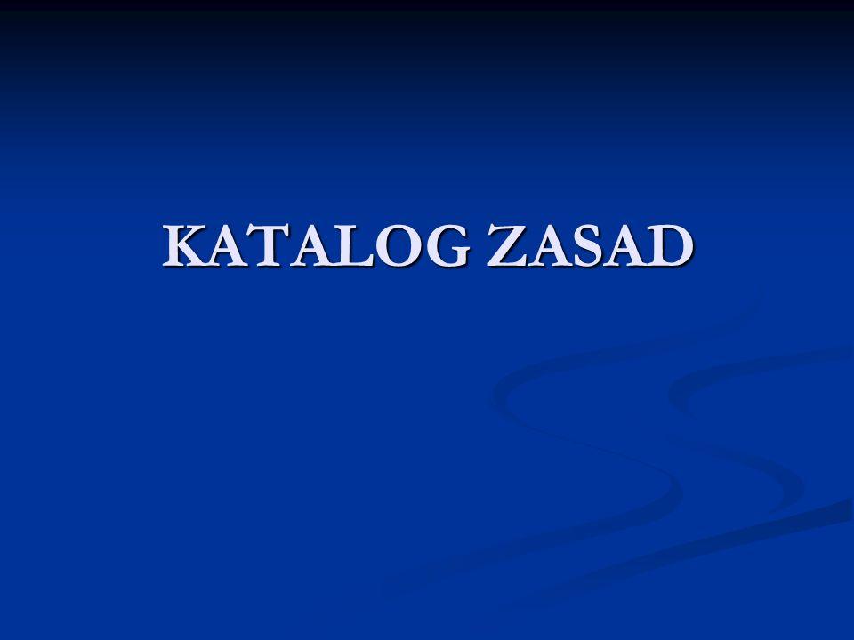 KATALOG ZASAD