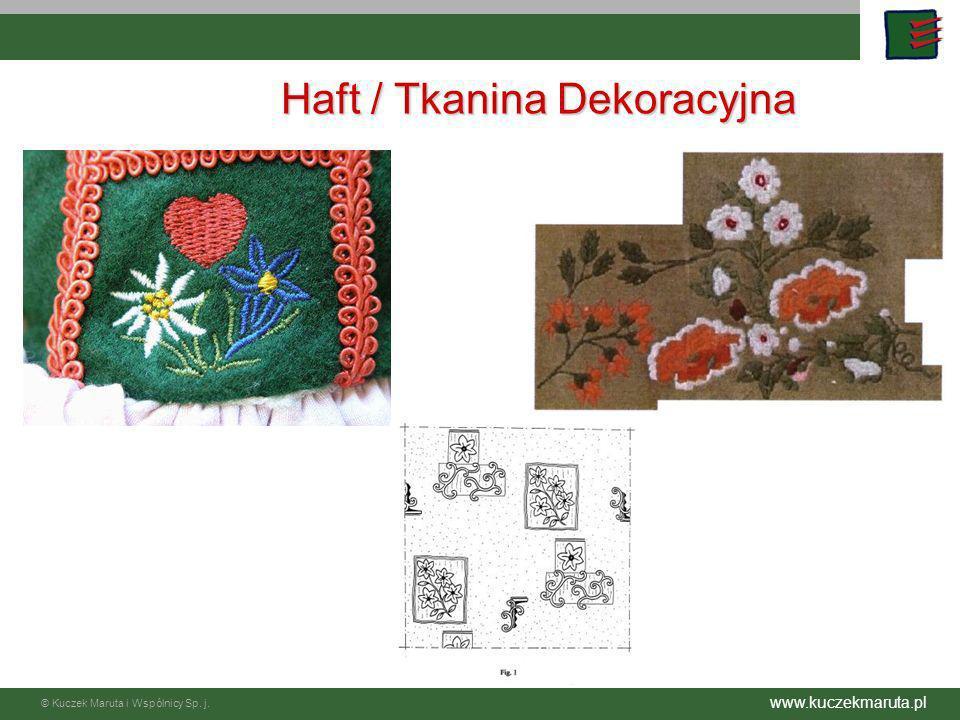 Haft / Tkanina Dekoracyjna