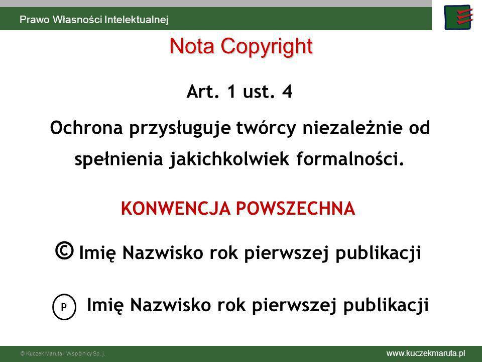 © Imię Nazwisko rok pierwszej publikacji