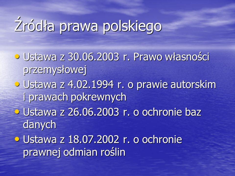 Źródła prawa polskiego