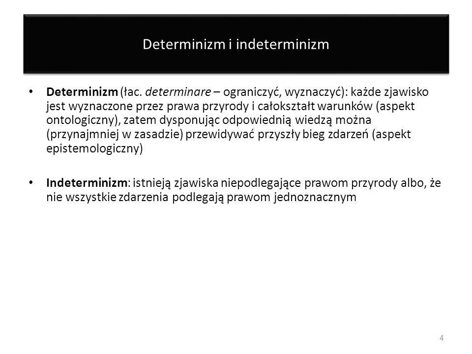 Determinizm i indeterminizm