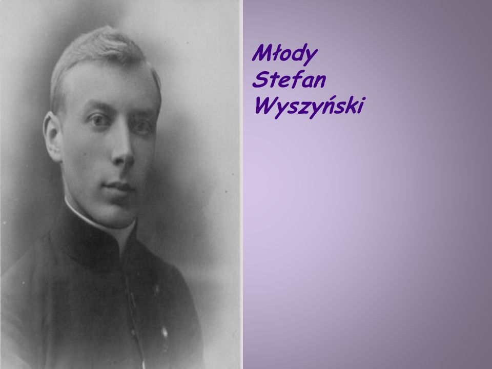 Młody Stefan Wyszyński