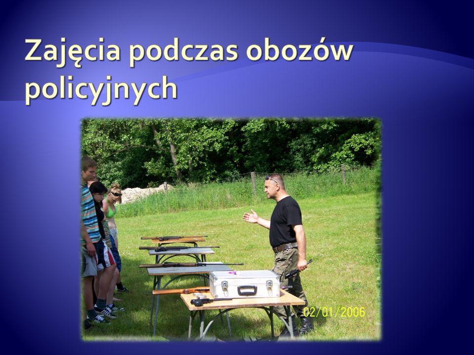 Zajęcia podczas obozów policyjnych