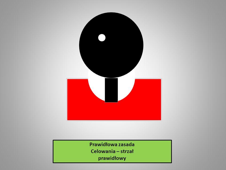 Prawidłowa zasada Celowania – strzał prawidłowy