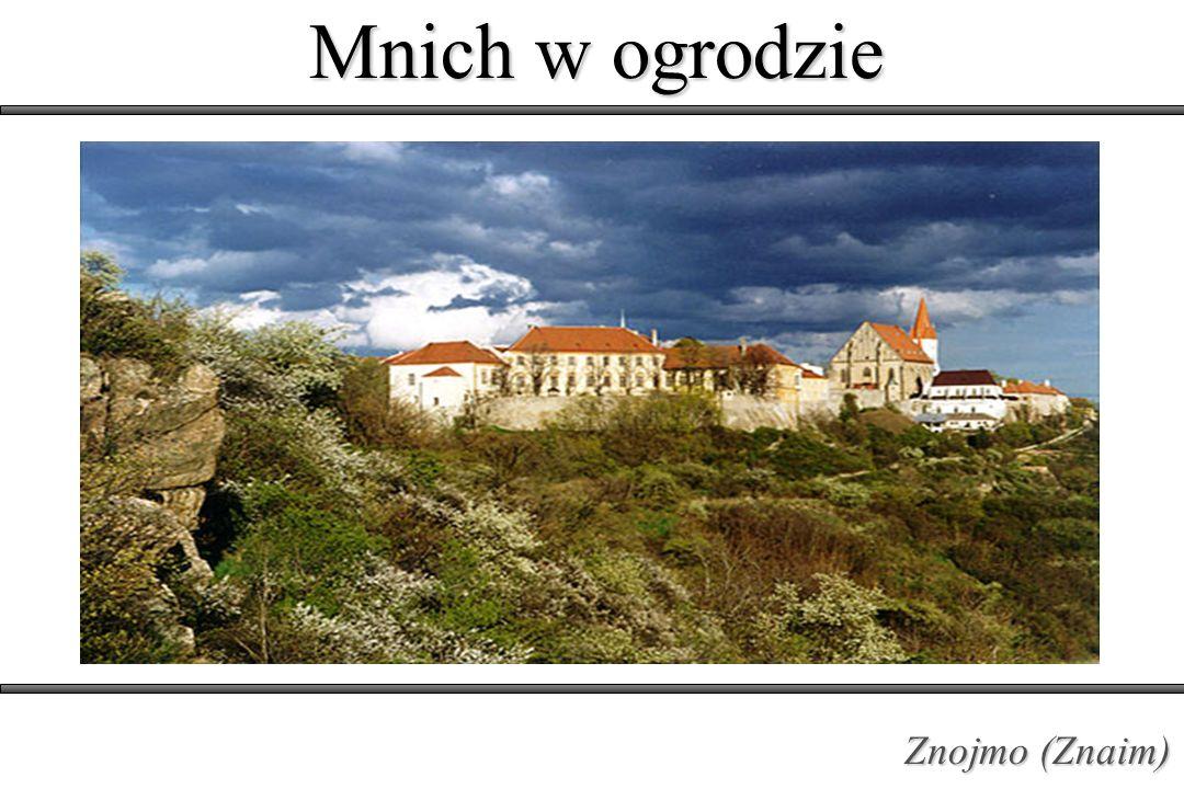 Mnich w ogrodzie Znojmo (Znaim)