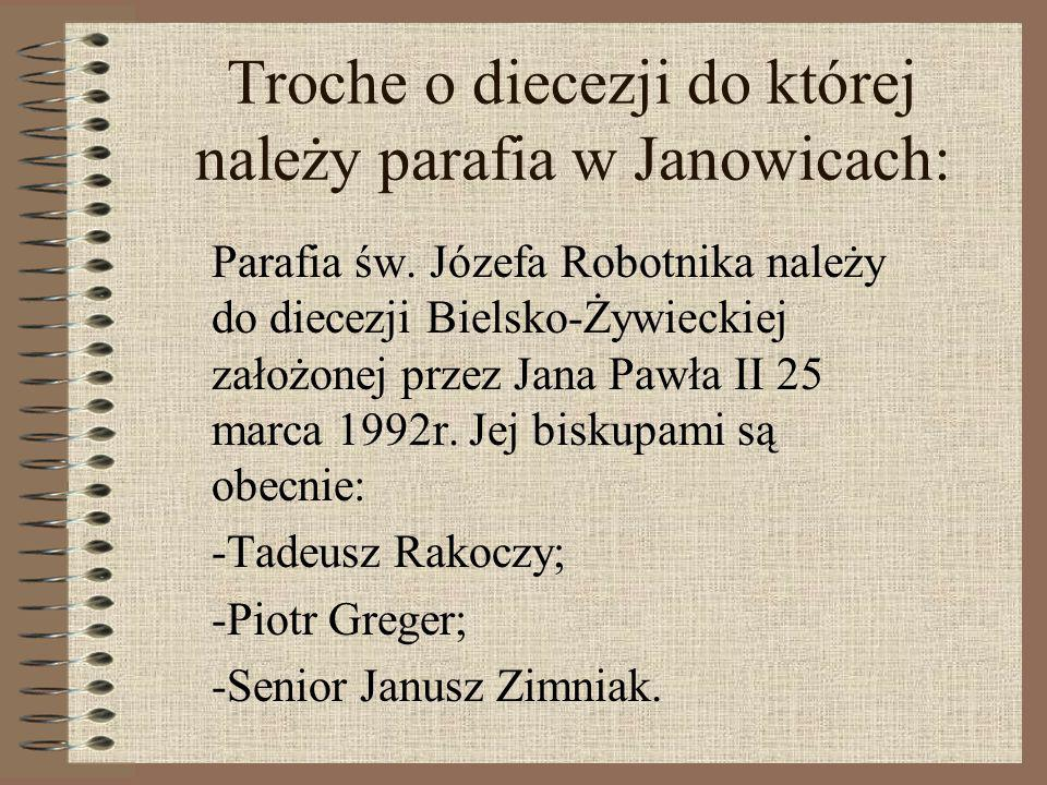 Troche o diecezji do której należy parafia w Janowicach: