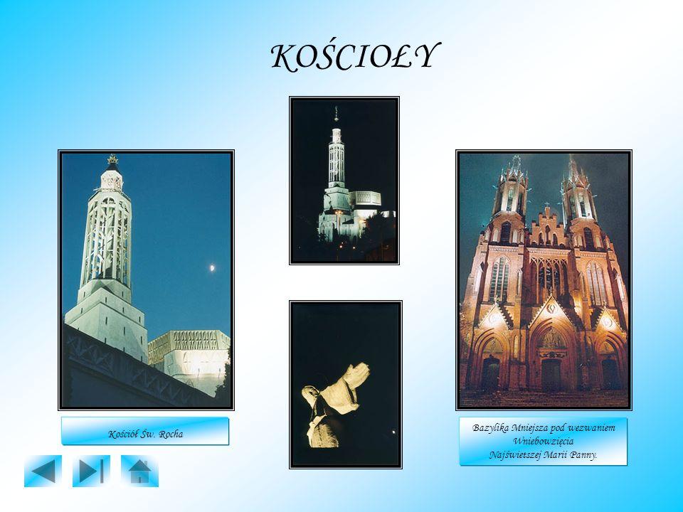 KOŚCIOŁY Kościół Św. Rocha