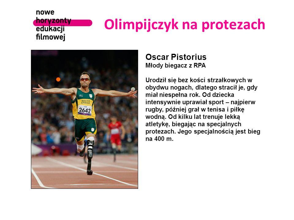 Olimpijczyk na protezach