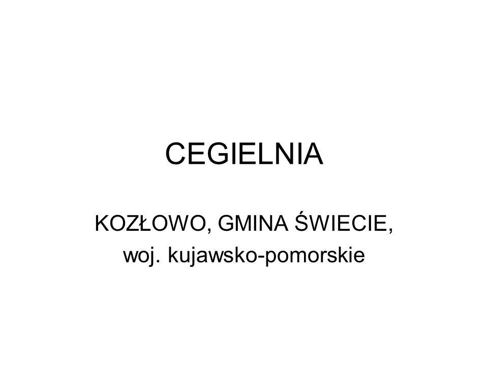KOZŁOWO, GMINA ŚWIECIE, woj. kujawsko-pomorskie