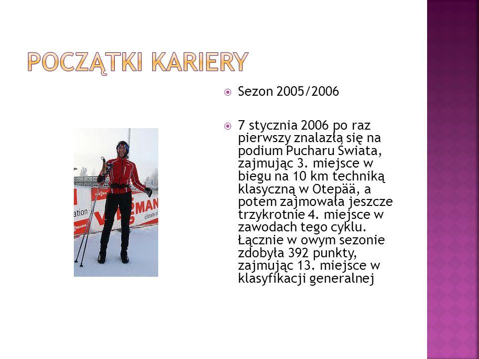 Początki kariery Sezon 2005/2006
