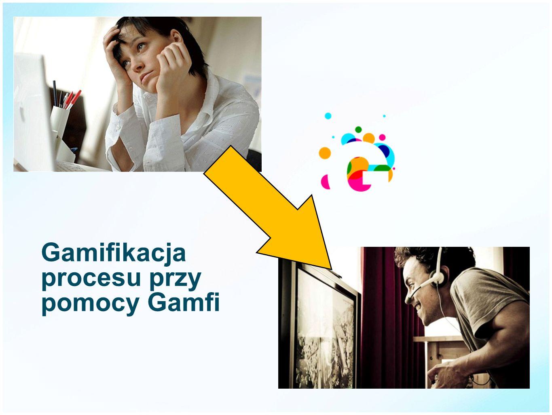 Gamifikacja procesu przy pomocy Gamfi