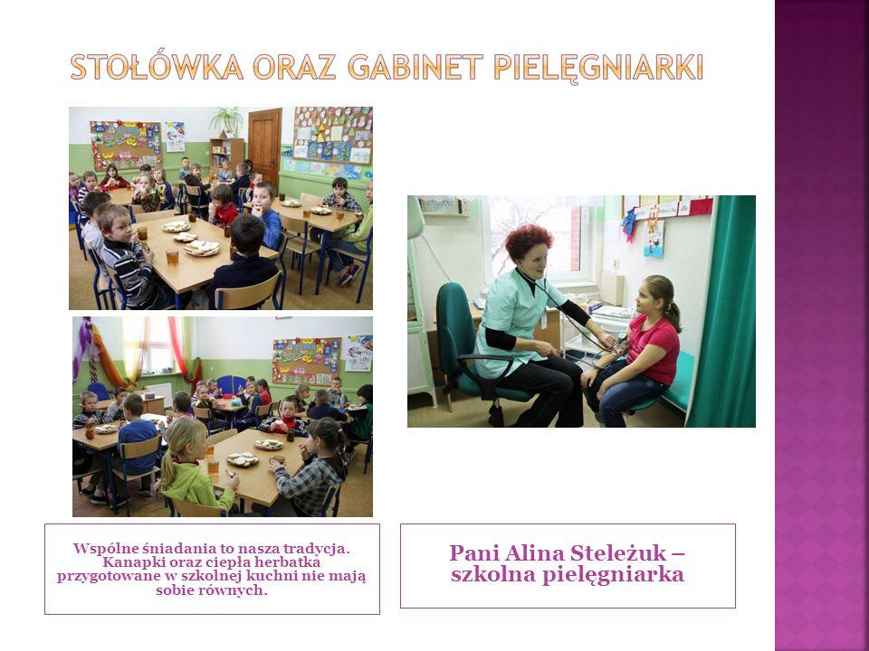 Pani Alina Steleżuk – szkolna pielęgniarka