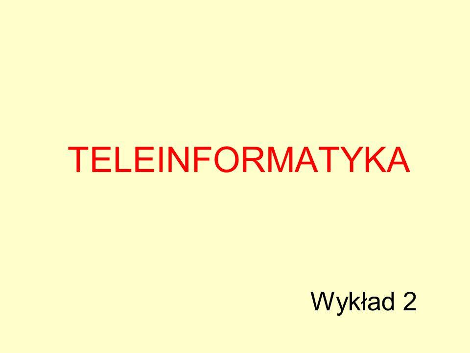 TELEINFORMATYKA Wykład 2