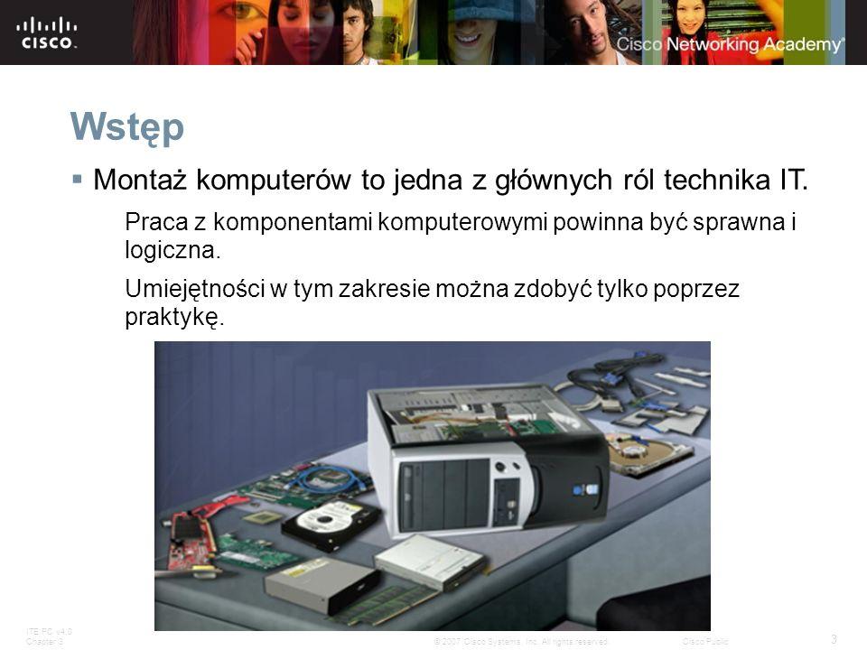 Wstęp Montaż komputerów to jedna z głównych ról technika IT.