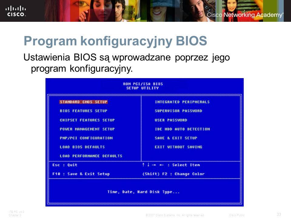 Program konfiguracyjny BIOS