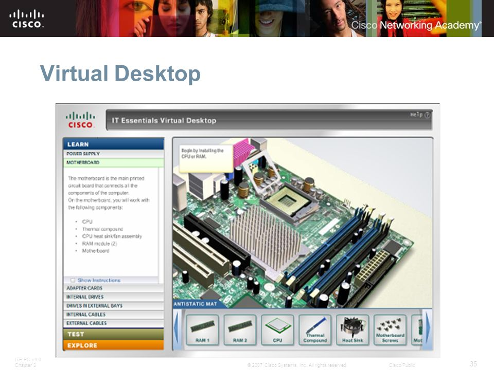Virtual Desktop Slide 44 – Virtual Desktop.