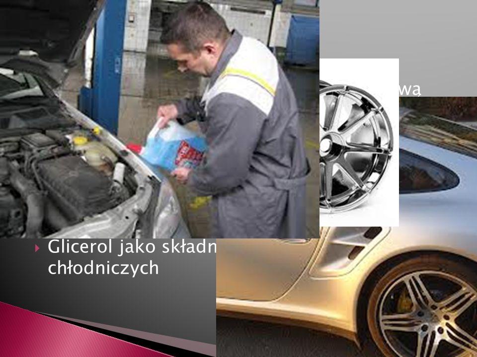 Motoryzacja Pokrywanie karoserii samochodów warstwą cynku (w procesie galwanizacji) powoduje większą odporność na korozję.