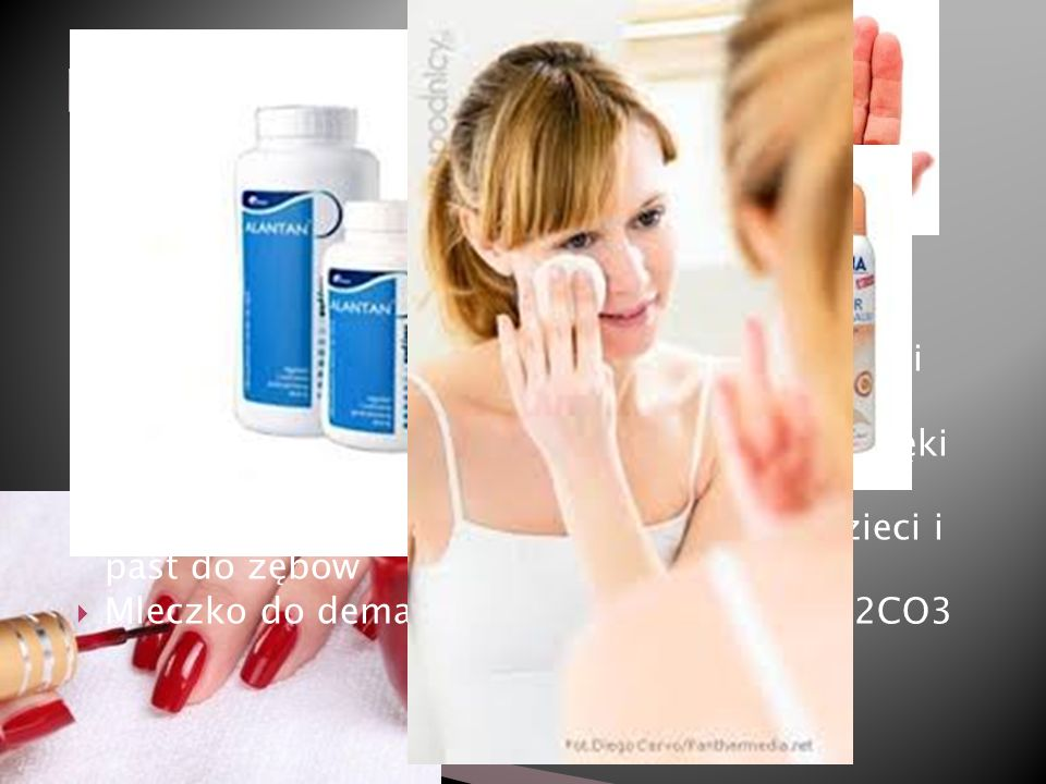 Przemysł kosmetyczny Używanie HCl do produkcji barwników stosowanych w lakierach do paznokci. H2S stosowany do produkcji chemicznych depilatorów.