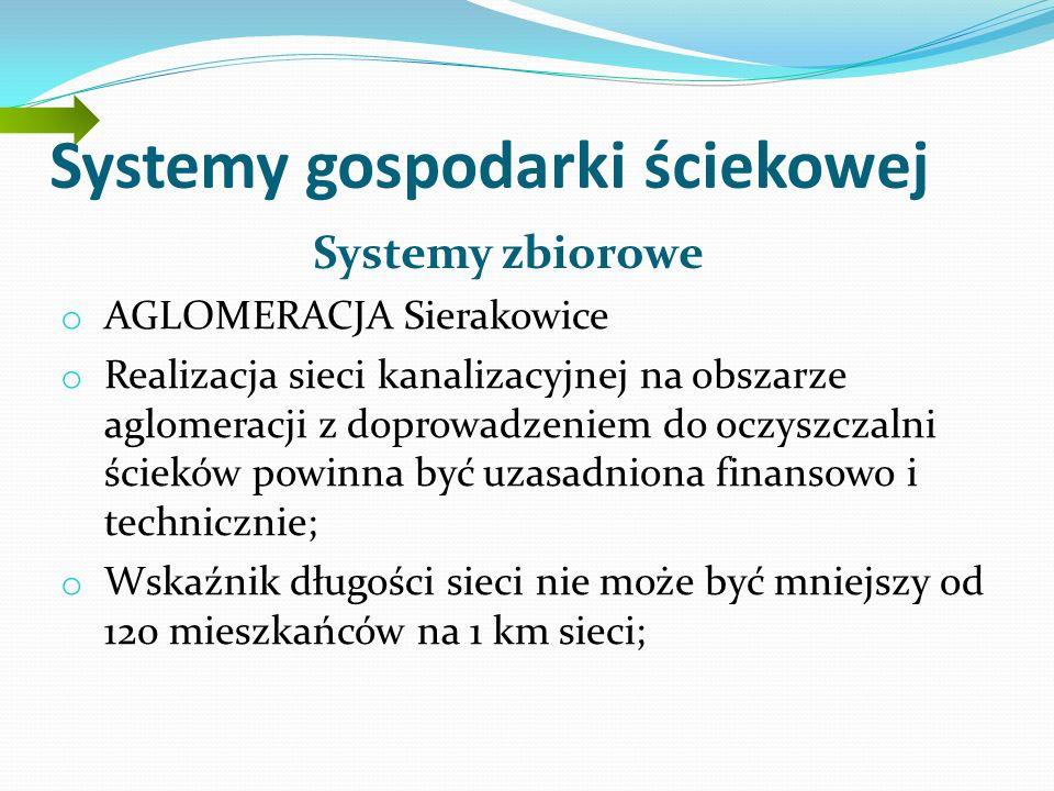 Systemy gospodarki ściekowej