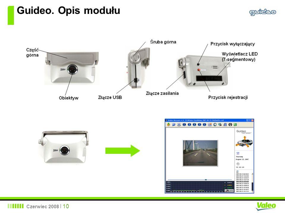 Guideo. Opis modułu Czerwiec 2008 I 10