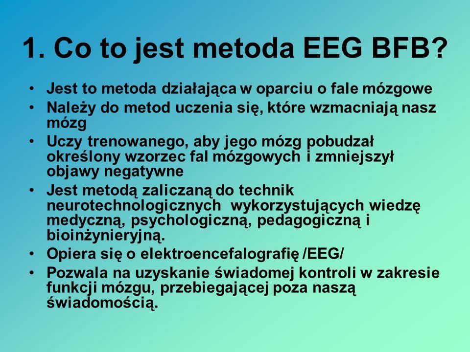 1. Co to jest metoda EEG BFB
