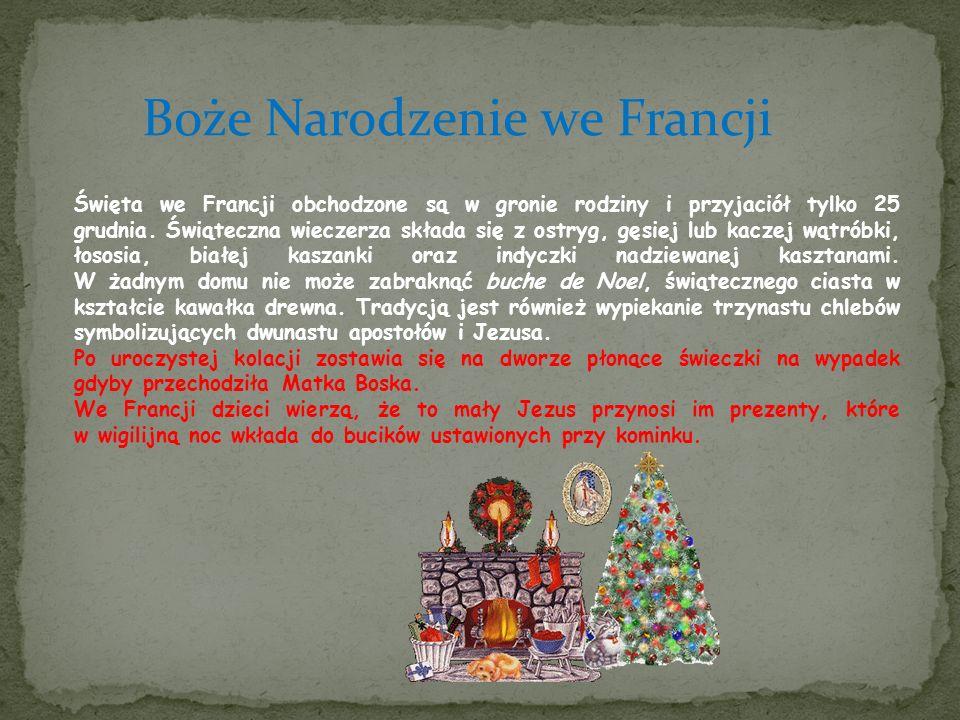 Boże Narodzenie we Francji