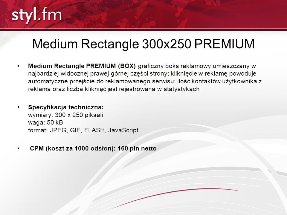 Medium Rectangle 300x250 PREMIUM