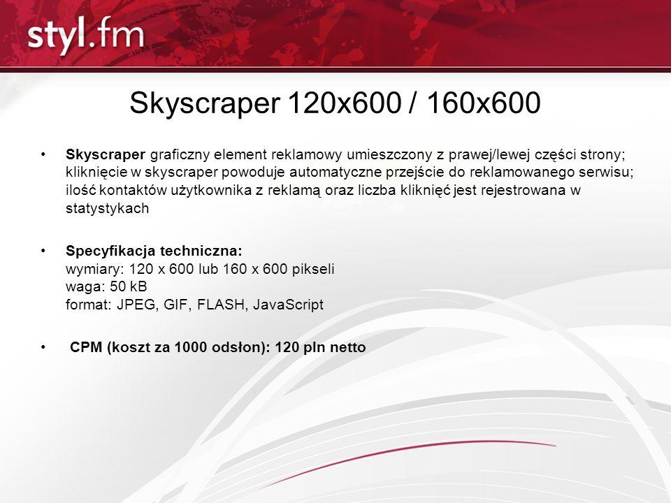 Skyscraper 120x600 / 160x600