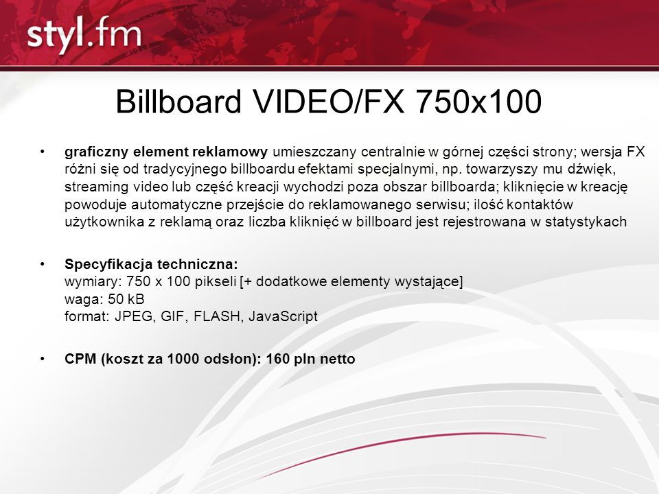 Billboard VIDEO/FX 750x100