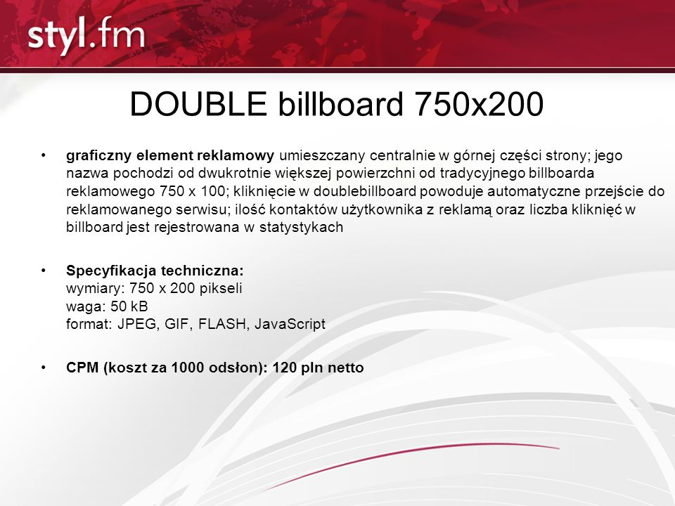 DOUBLE billboard 750x200