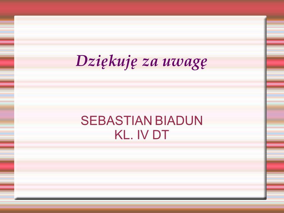 SEBASTIAN BIADUN KL. IV DT