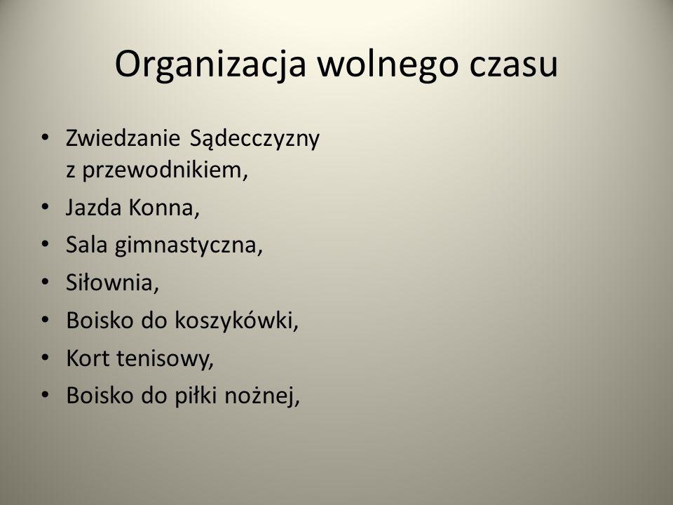Organizacja wolnego czasu