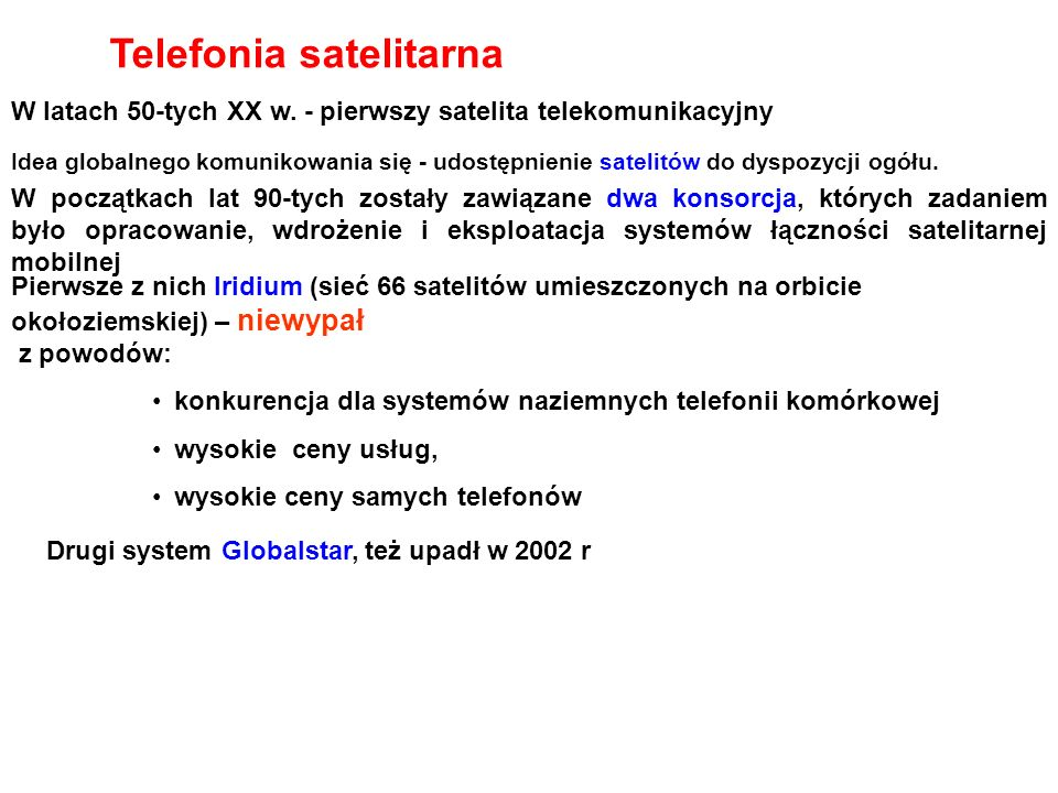 Telefonia satelitarna