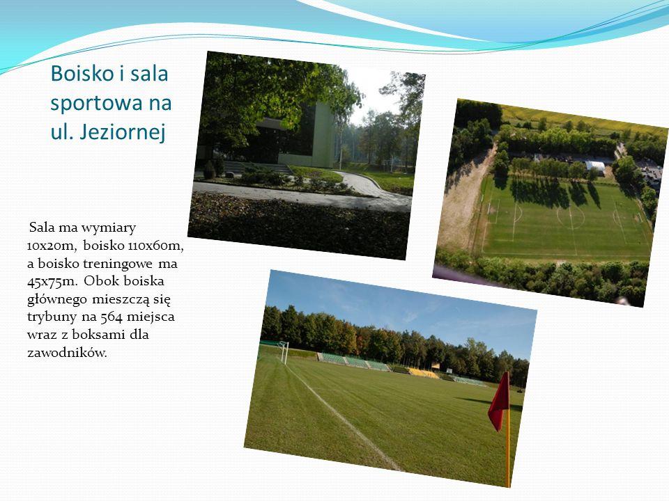 Boisko i sala sportowa na ul. Jeziornej