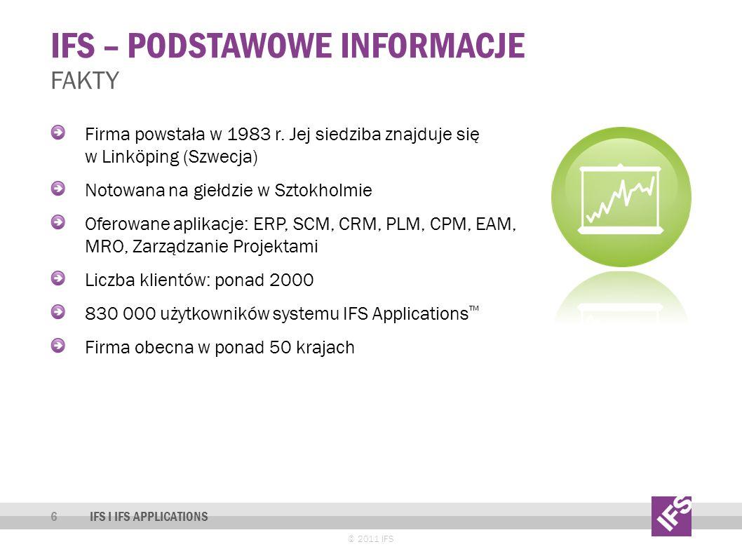IFS – podstawowe informacje