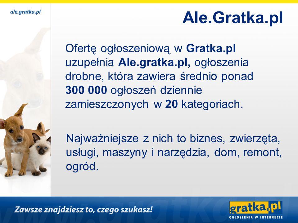 Ale.Gratka.pl Ofertę ogłoszeniową w Gratka.pl