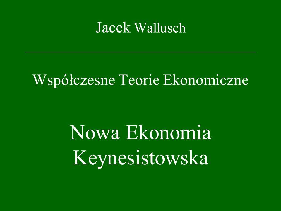Nowa Ekonomia Keynesistowska