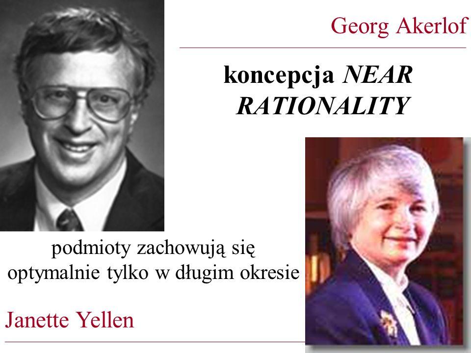 koncepcja NEAR RATIONALITY