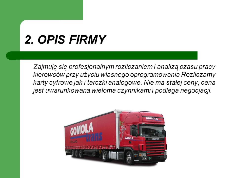 2. OPIS FIRMY