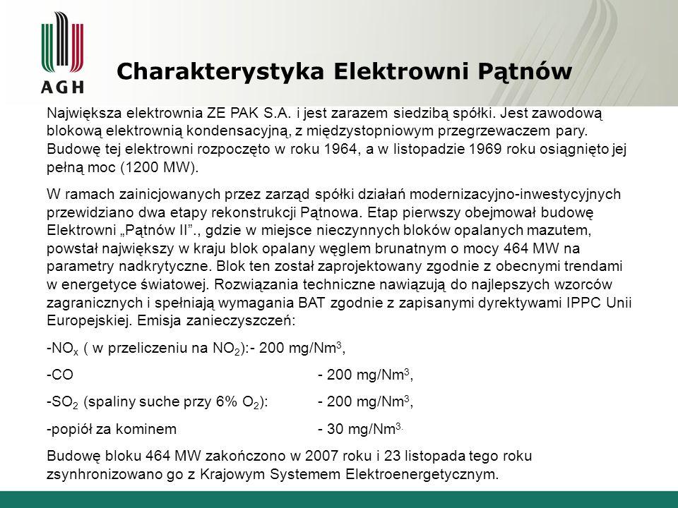 Charakterystyka Elektrowni Pątnów