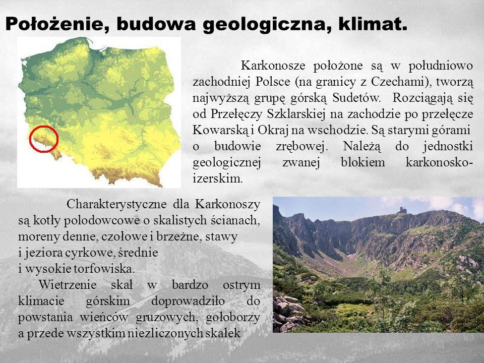 Położenie, budowa geologiczna, klimat.