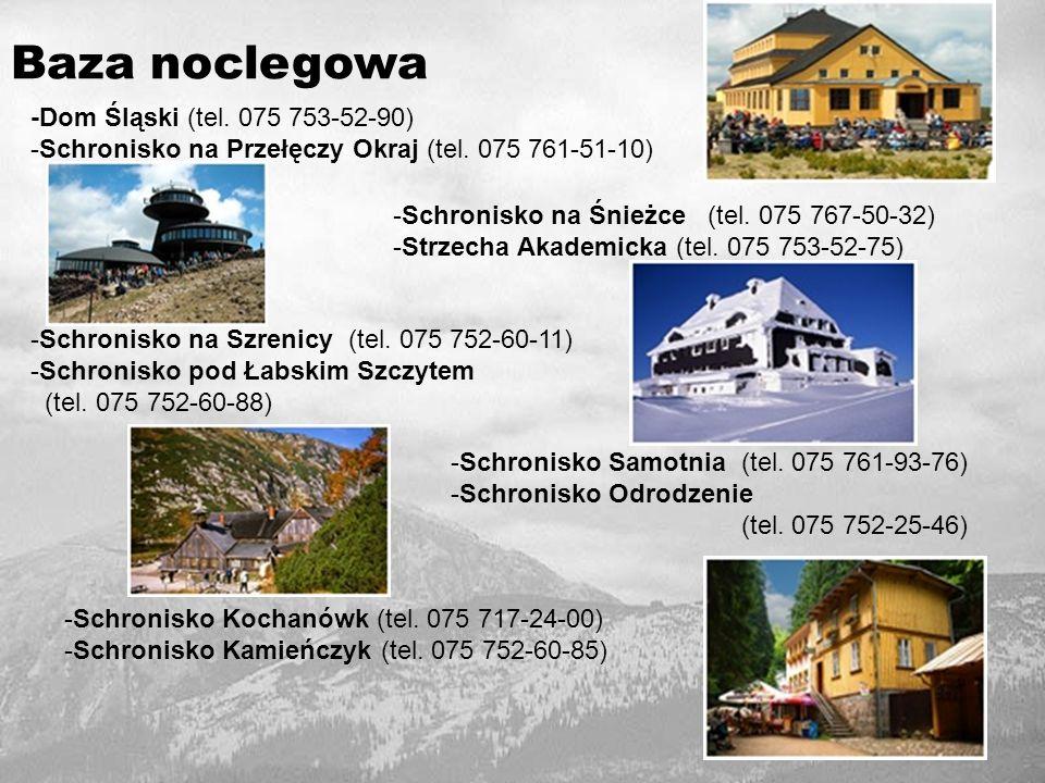 Baza noclegowa -Dom Śląski (tel. 075 753-52-90)