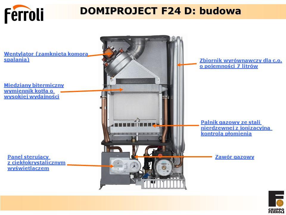 DOMIPROJECT F24 D: budowa