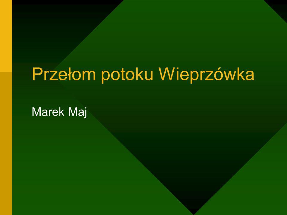 Przełom potoku Wieprzówka
