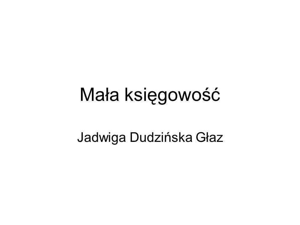 Jadwiga Dudzińska Głaz