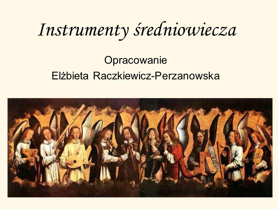 Instrumenty średniowiecza