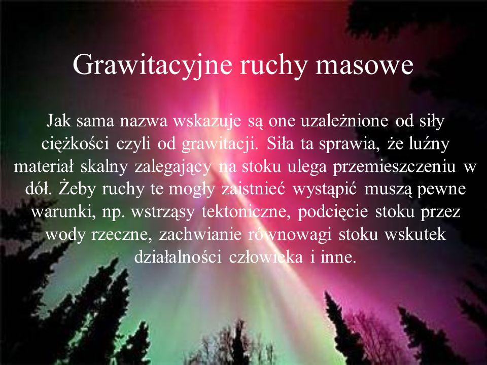 Grawitacyjne ruchy masowe