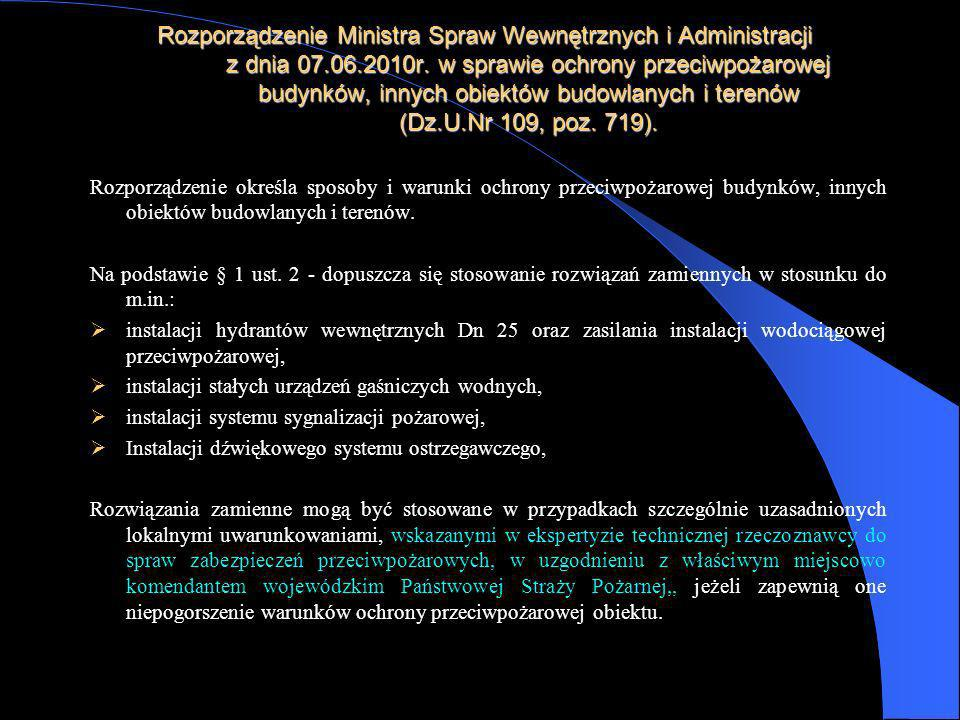 Rozporządzenie Ministra Spraw Wewnętrznych i Administracji z dnia 07