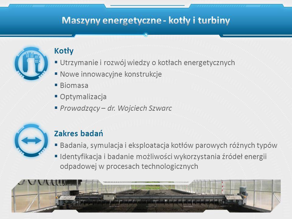 Maszyny energetyczne - kotły i turbiny