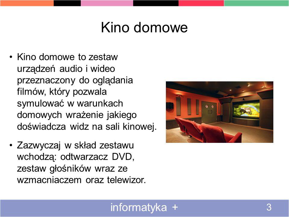 Kino domowe informatyka +